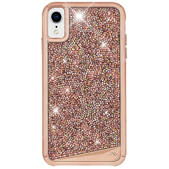 1dcb18007e3cd4 Case-Mate - iPhone XR Case - Brilliance - iPhone 6.1 - Rose Gold:  Amazon.ca: Cell Phones & Accessories