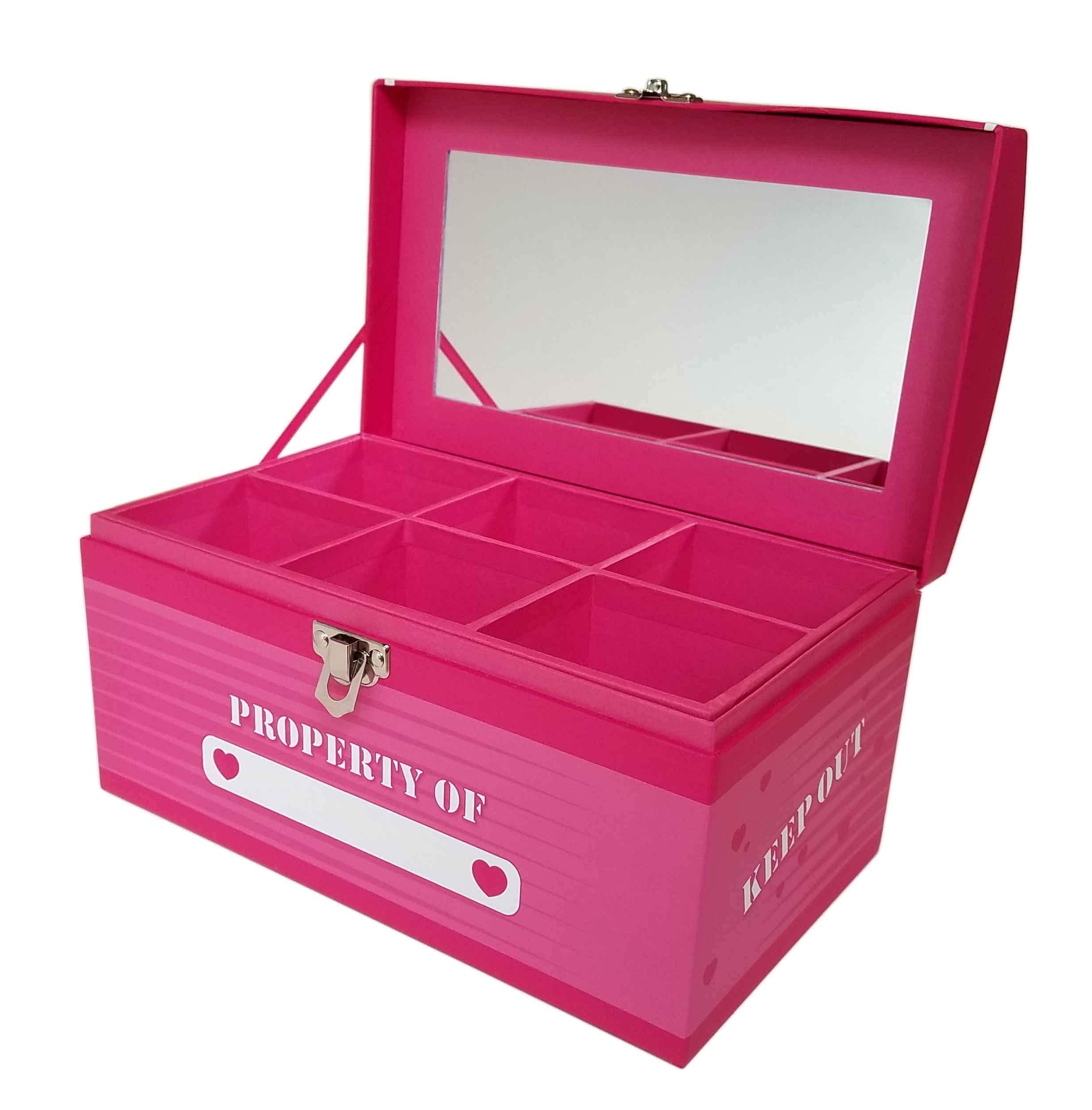 Treasure Chest Box Jumbo - Princess Pink