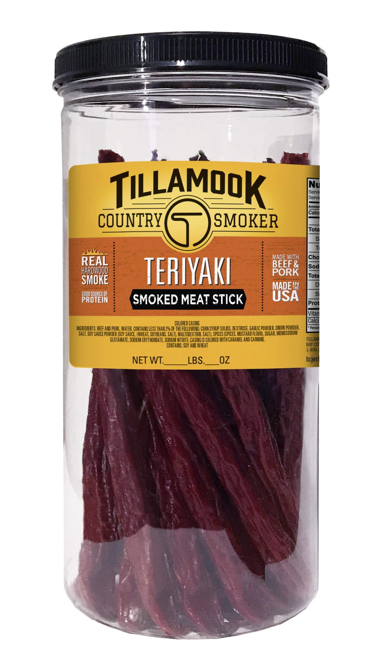 Amazon Com Tillamook Country Smoker Teriyaki Sticks 20