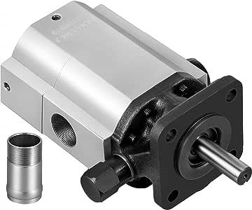 Bestauto Hydraulic Pump 16 GPM Hydraulic Motor 2 Stage Hydraulic Pump Log Splitter Hydraulic Pump Wood Splitter Pumps Log Splitter Hydraulic Built Pump Hydraulic Wood Splitter Parts & Hydraulic Motor