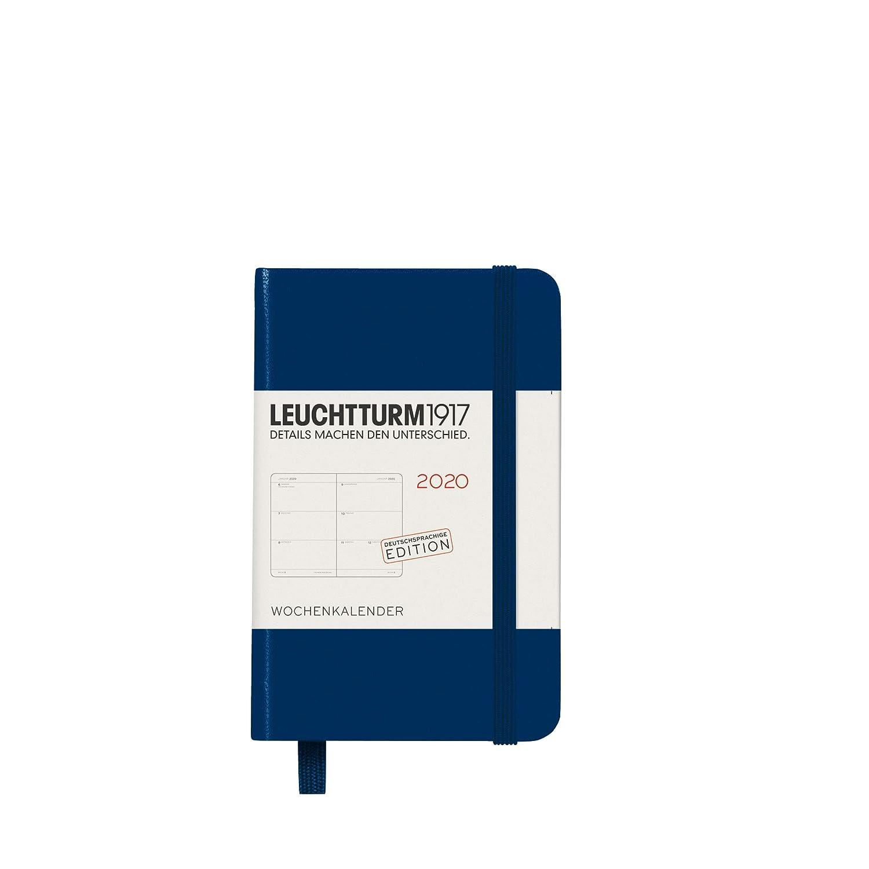 2020 Deutsch A5 LEUCHTTURM1917 359975 Wochenkalender Medium mit Extraheft Pacific Green