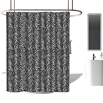 Amazon.com: Cortinas de ducha de color marrón, decoración de ...