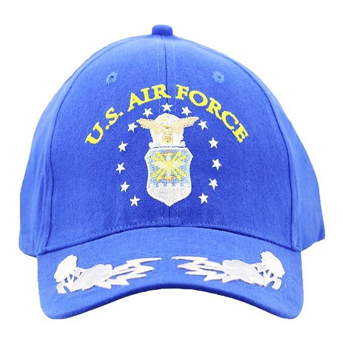 Amazon.com  US Air Force Cap with Scrambled Eggs Men and Women ... 09b94c83cd