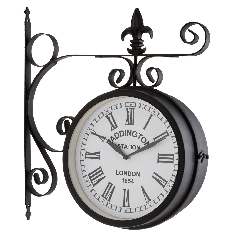 Blumfeldt Paddington Reloj Pared Vintage Dise O Estacion De Tren  ~ Relojes Grandes De Pared Vintage