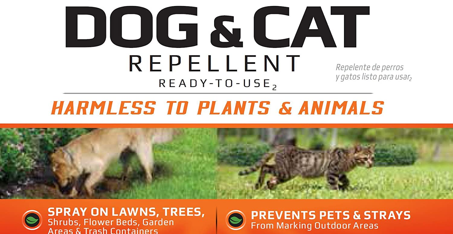 Amazon.com : Liquid Fence Dog & Cat Repellent Ready-to-Use, 32-Ounce : Garden & Outdoor