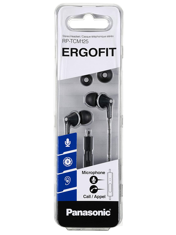 Panasonic RP-TCM125 Ergo Fit Stereo Headset  Amazon.in  Electronics 84603db6f1