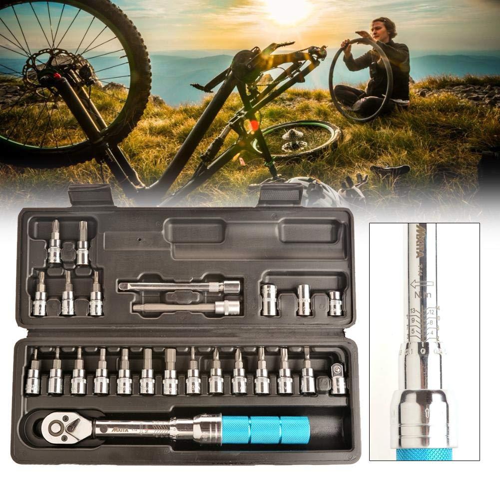 SunniY - Llave dinamométrica para Bicicleta, 1/4 Pulgadas ...