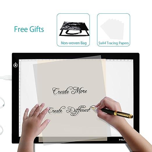102 opinioni per Huion USB Tavoletta Tavolo Scatola Luminosa a LED Disegno Pittura Tracing Board