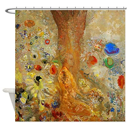 Amazon CafePress Odilon Redon Buddha In His Youth Shower