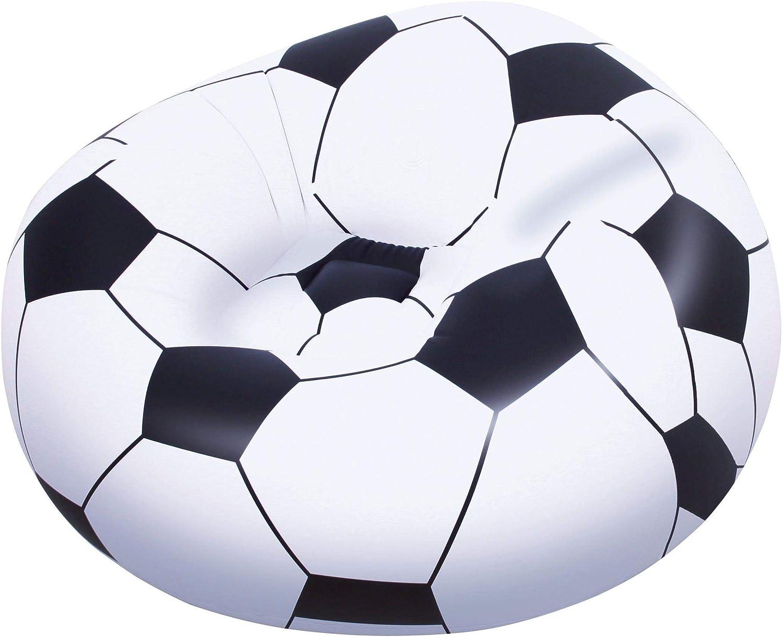 Puff Hinchable Balón Fútbol
