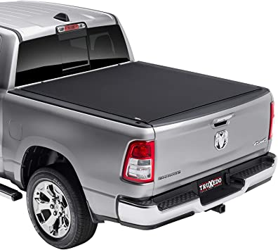 Amazon Com Truxedo Pro X15 Soft Roll Up Truck Bed Tonneau Cover 1485901 Fits 2019 2020 New Body Style Ram 1500 Does Not Fit With Multi Function Split Tailgate 5 7 Bed Automotive