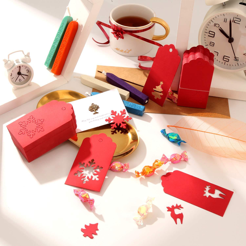 Amazon Patelai 210 Pieces Paper Tags Gift Hang Tags Christmas