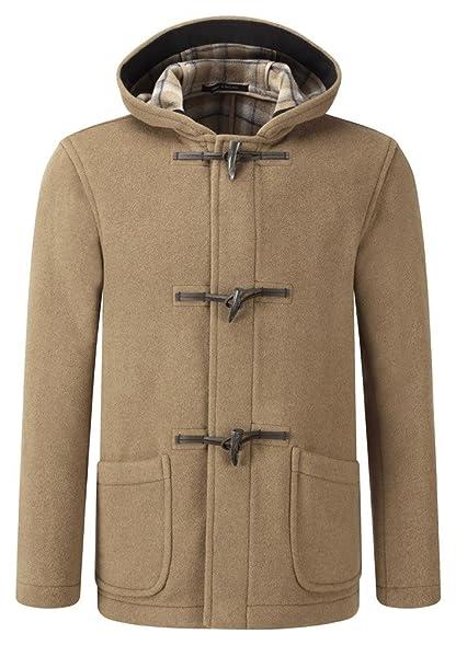 Original Montgomery Mens Short Duffle Coat -- Toggle Coat Camel at ...