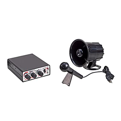 Wolo (345) Animal House Electronic Horn and P.A. System - 12 Volt: Automotive