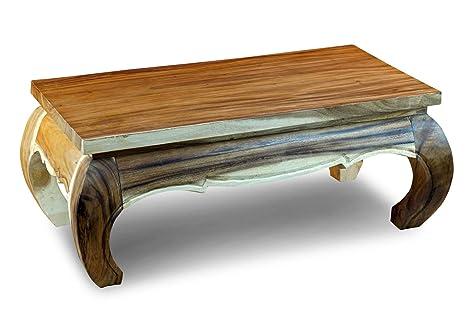 Tavolini Da Salotto In Legno Massiccio : Kinaree mongkol tavolino da salotto o da oppio in legno