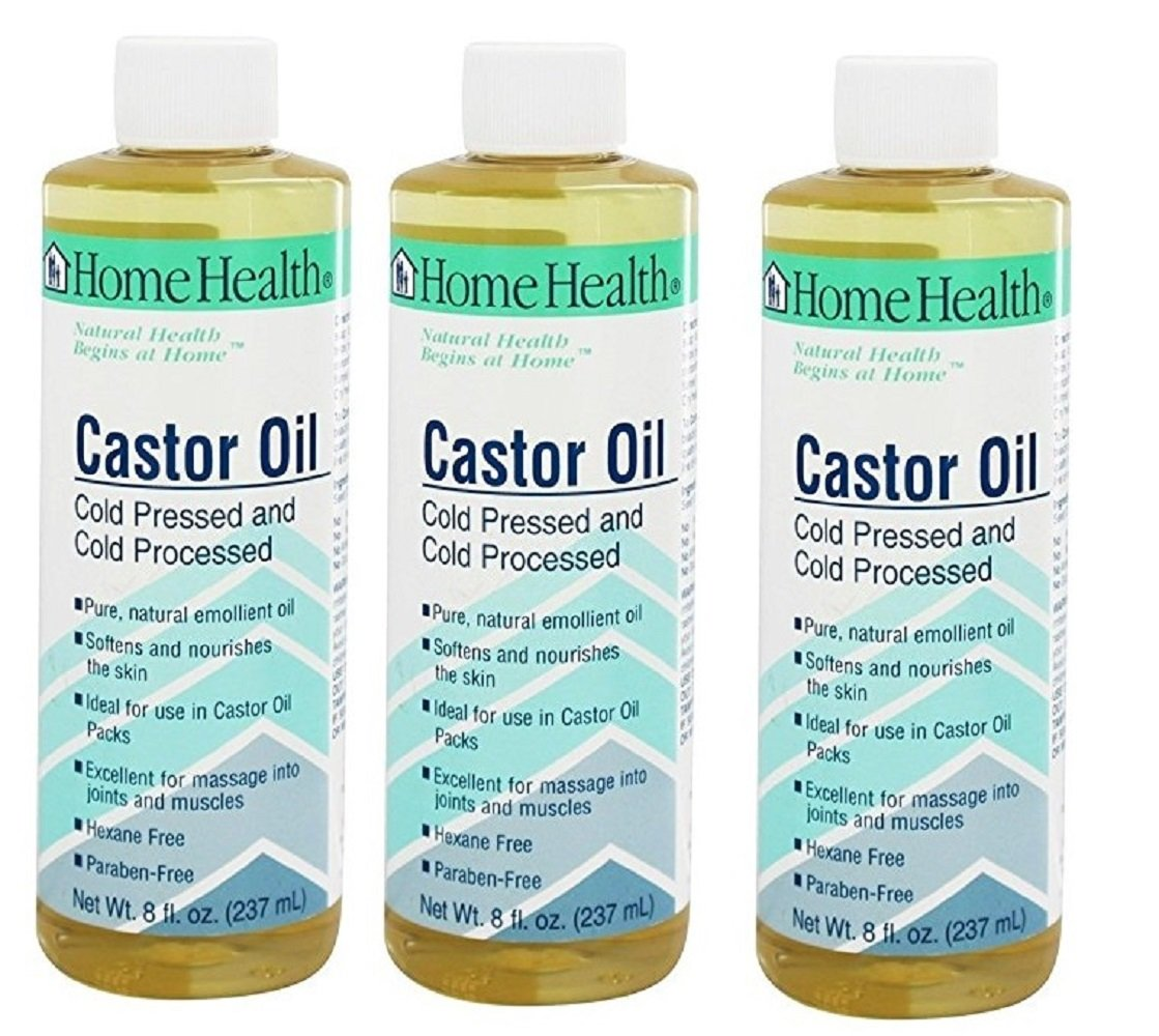 Home Health Castor Oil, Cold Pressed and Cold Processed, 32-Ounce 50132