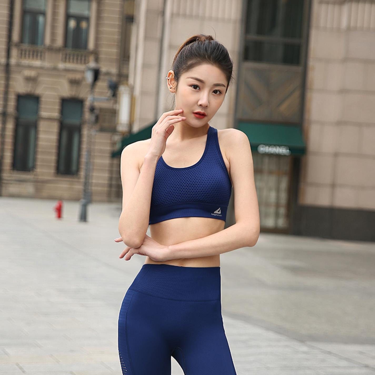 Women High Impact for Fitness Yoga Running Pad Top Sports Bra at Amazon Womens Clothing store: