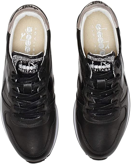 Diadora Heritage, Donna, Camaro H W Lux, Pelle, Sneakers