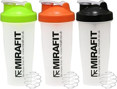 MiraFit - Mezclador para bebidas de proteínas para el ...