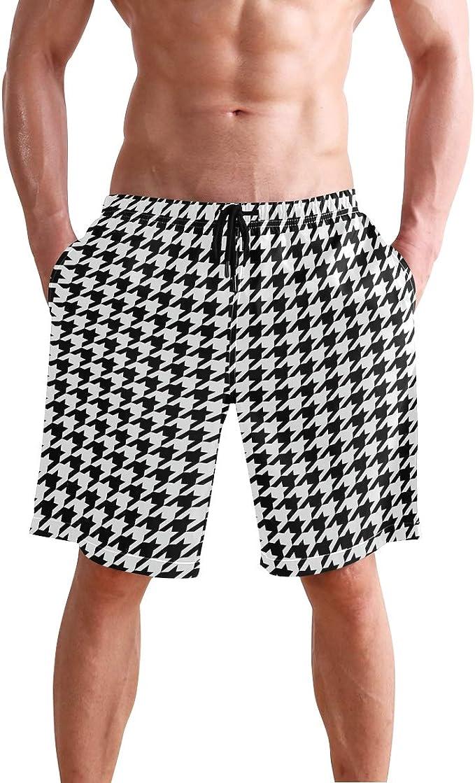 Mens Soft Hawaii Beach Tour Classic Beach Shorts Swim Trunks Board Shorts
