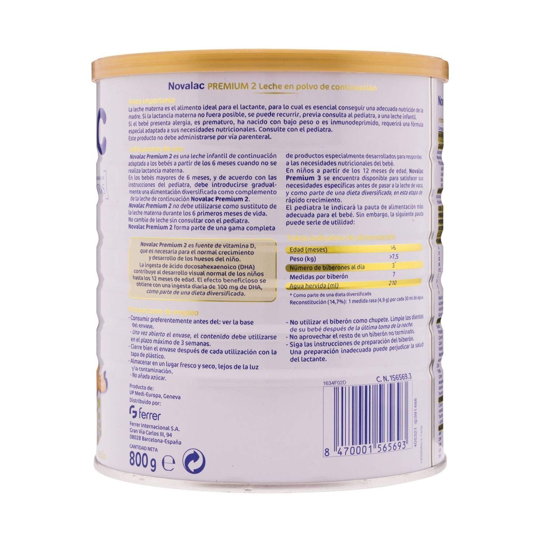 Amazon.com: Novalac Premium 2800g - Follow-on milk with ...
