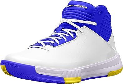 compañero derivación Censo nacional  Amazon.com | Under Armour Lockdown 2 Basketball Shoes - 13 - White |  Basketball