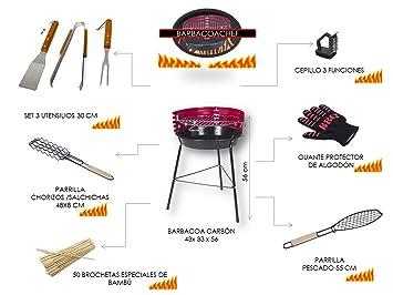 Barbacoa Pack Chef (9 piezas)