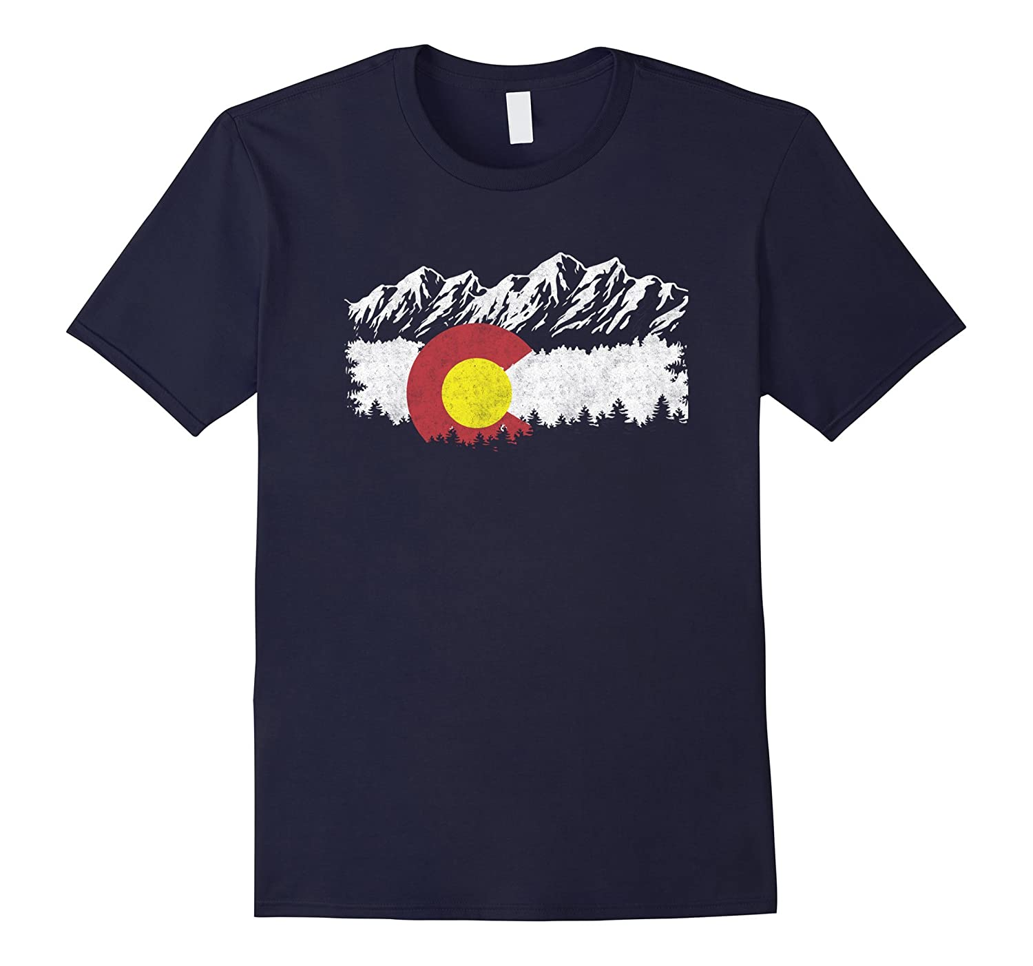 Love Retro Flag Moutain Vintage heart state-Vaci