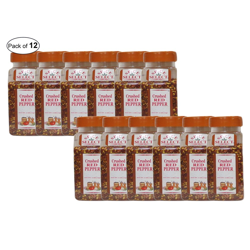 Spice Select- Crushed Red Pepper (170g) (Pack of 12) by Spice Select ®
