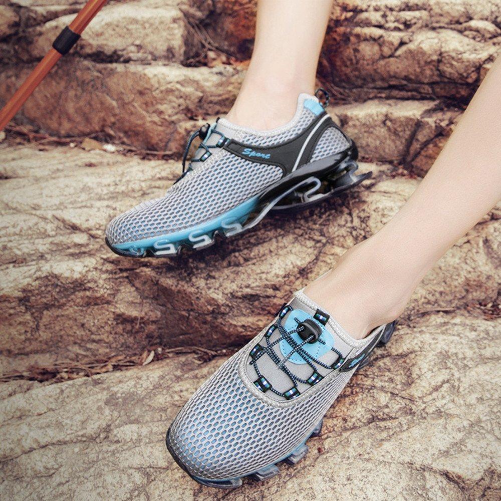Sneaker For Mens,Clearance Sale!!Farjing Running Light Mesh Athletic Walking Sneaker Slip On Outdoor Sport Shoes