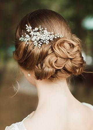 Kercisbeauty Hochzeit Braut Bridesmaids Blumen Grun Perlen Mit Braut