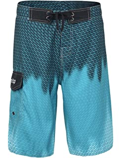 b77e0ea5f6 Unitop Men's Board Shorts Summer Holiday Surf Trunks Quick Dry ...