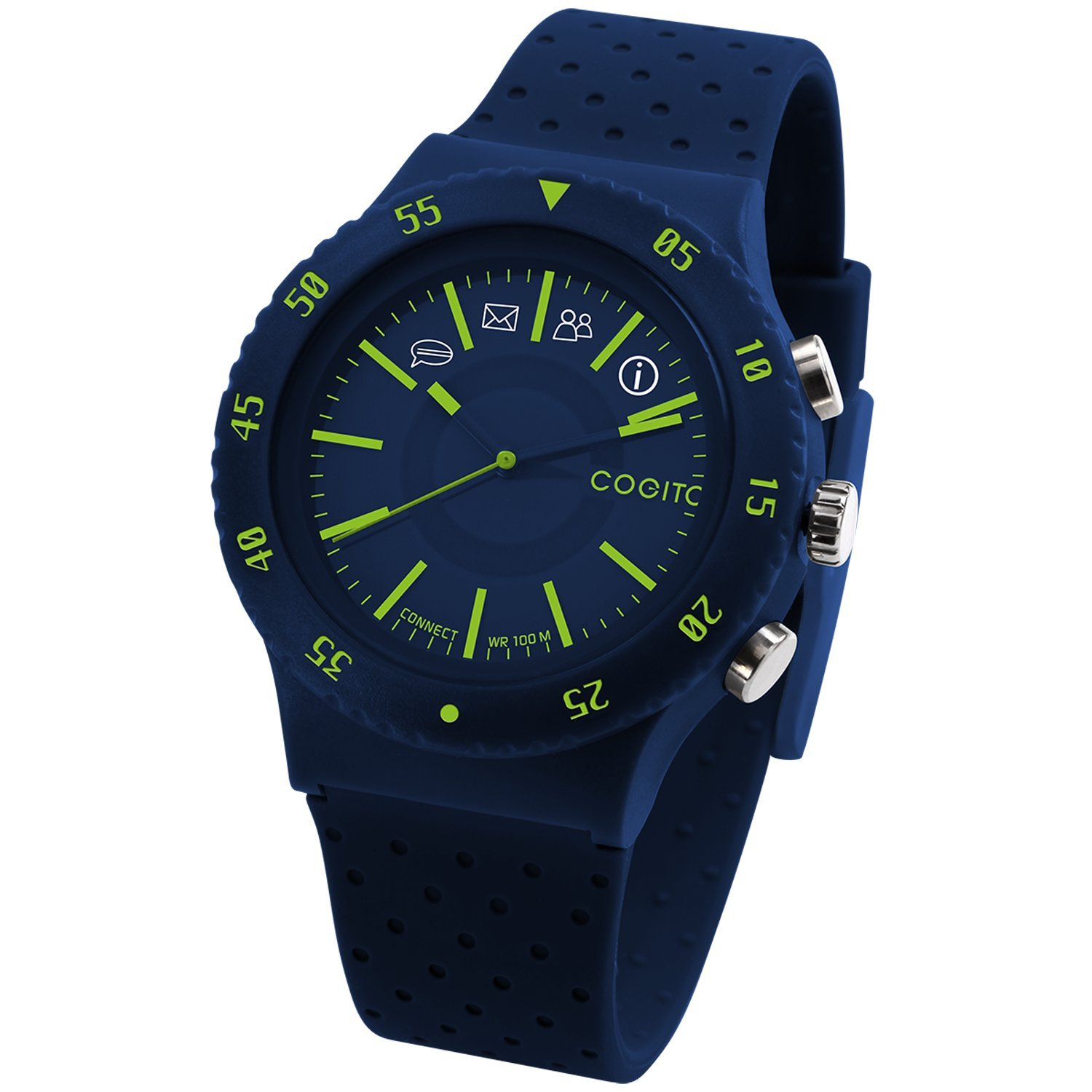COGITO POP Smart Bluetooth Connected Watch - Blue Electric by COGITO