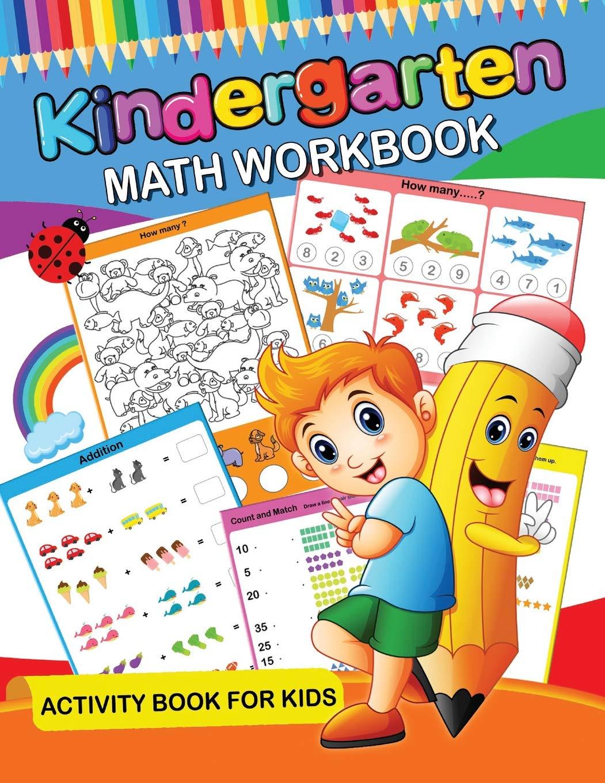 Math for Kindergarten Kindergarten Math book Basic Workbook for Kids Grade K Addition Subtraction Workbook