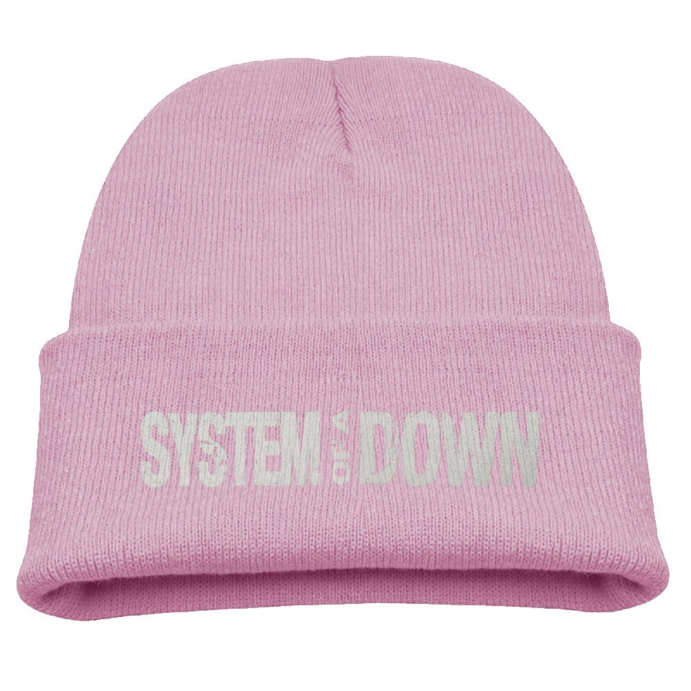 Boys & Girls Beanie Hat System Of A Down Skull Cap In 4 Colors