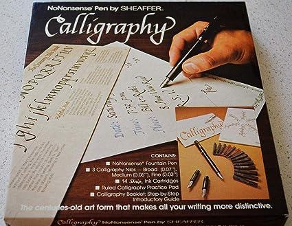 Amazon Com No Nonsense Pen By Sheaffer Calligraphy Kit