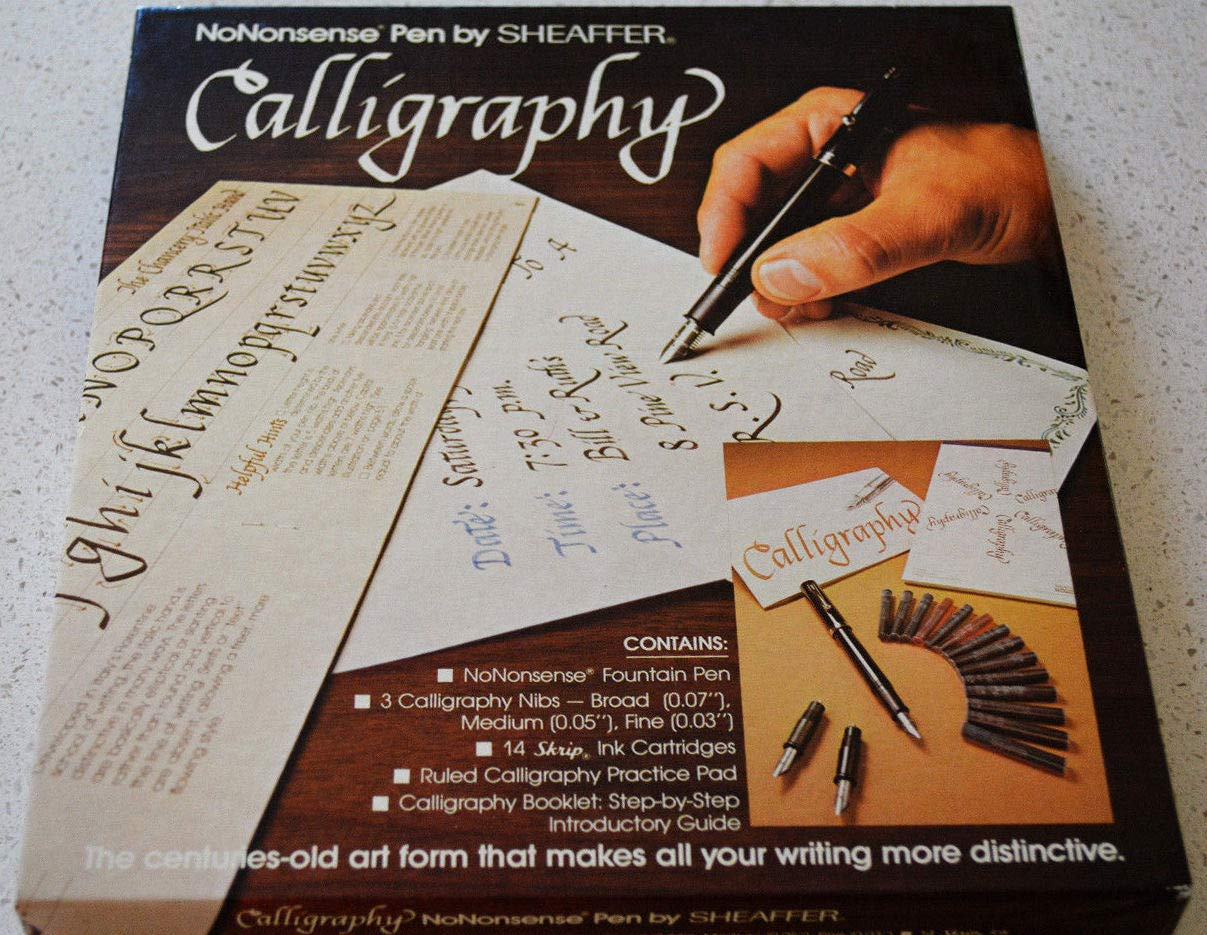 No Nonsense Pen By Sheaffer Calligraphy Kit by Sheaffer (Image #1)