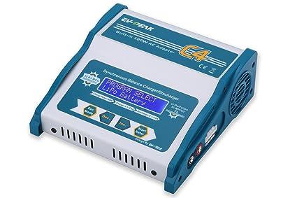 Amazon.com: EV-PEAK C4 80 W 8 A AC/DC de entrada RC Cargador ...