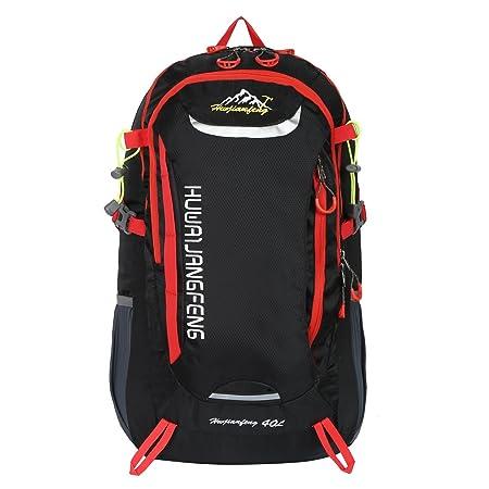 HWJIANFENG 30L Mochilas de Senderismo para Montaña de Acampadas de Ordenador al Aire Libre de Nylon de Diaria Mochilas de Excursion para Viajes Unisex de ...