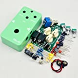 TTONE DIY electric Guitar Delay Effect Pedal kit true bypass+stom box 1590B Green enclosure Guitarra Effect Pedal TTONE