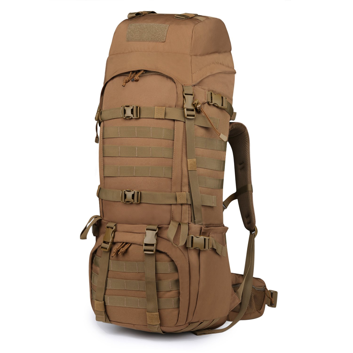 Mardingtop 65 10L 65L Molle Hiking Internal Frame Backpacks with Rain Cover