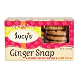 Lucy's Ginger Snaps Gluten Free Cookies, 5.5 Ounce