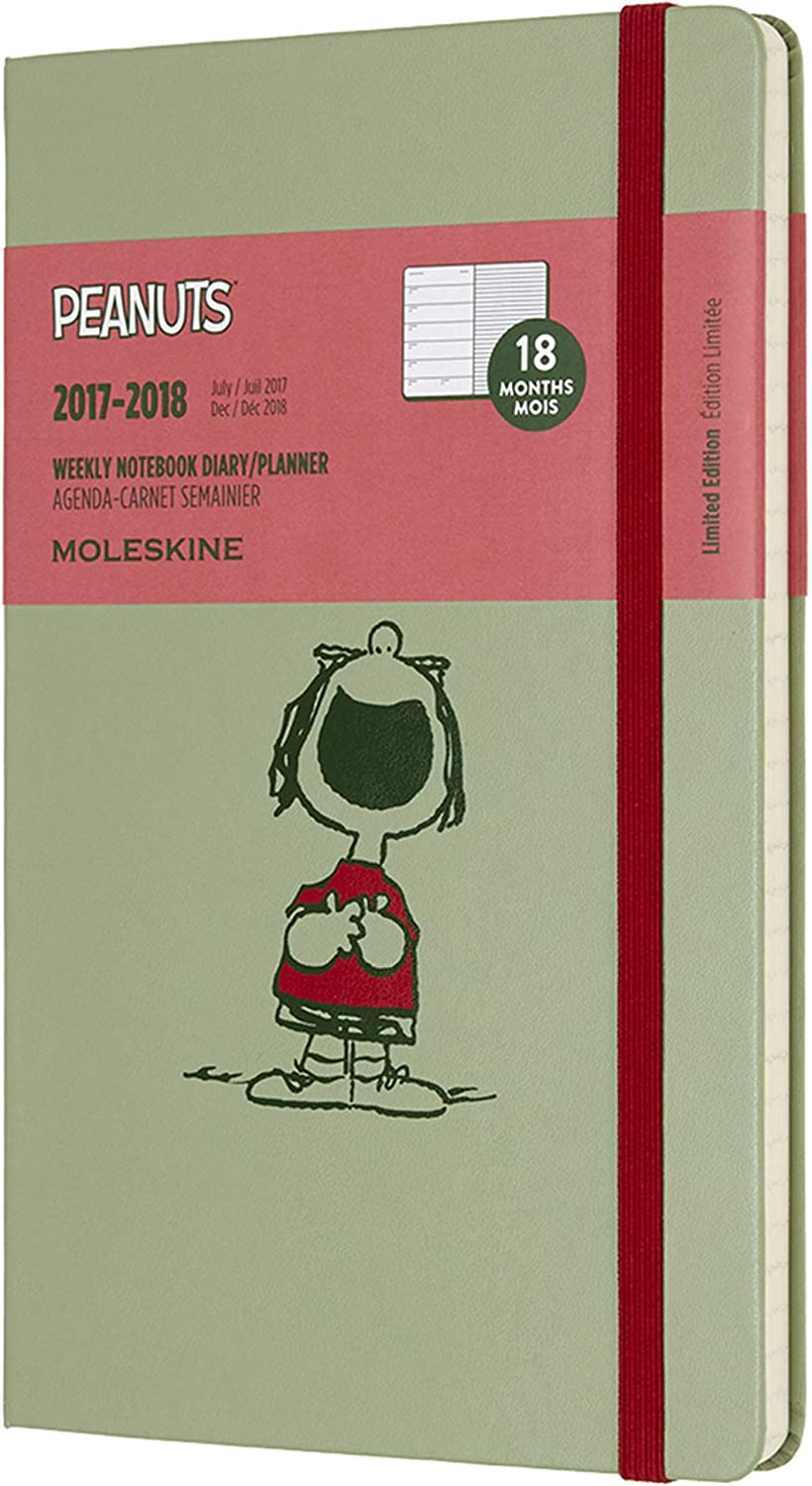 2018 Moleskine Alice in Wonderland Limited Edition Willow Green Pocket Weekly No