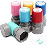 Mini Self Inking Teacher Grading Stamps (Assorted Designs, 6 Pack)