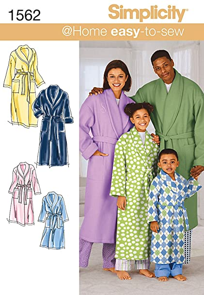 Amazon.com  Simplicity Creative Patterns 1562 Child s f00be1c91