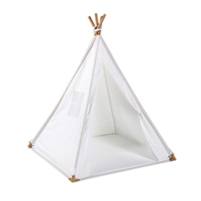 UTEX Kid'S Teepee Tent, Indoor Outdoor Play House ,Floor Mate, Indian Teepee Playhouse Sleeping Dome Play Tent W/Zipper Carry Bag for Boys ,Girls: Toys & Games [5Bkhe0200495]
