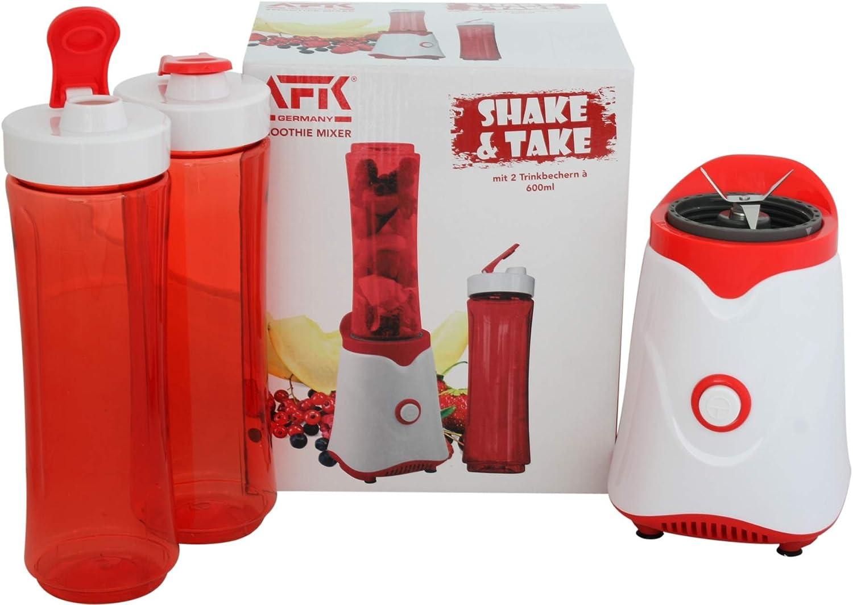 600 ml 2 Trinkflaschen AFK Steel Stand mixer// Smoothie Maker inkl