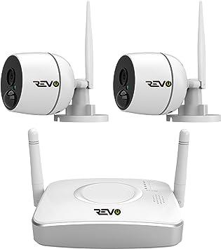Amazon.com: RevoAmerica 4 CH. Sistema de seguridad ...