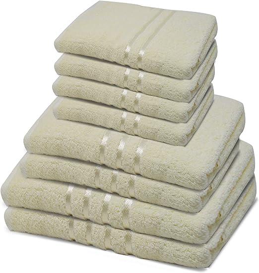 Toallas de baño Towelogy® 100% algodón hilado en anillo, para ...