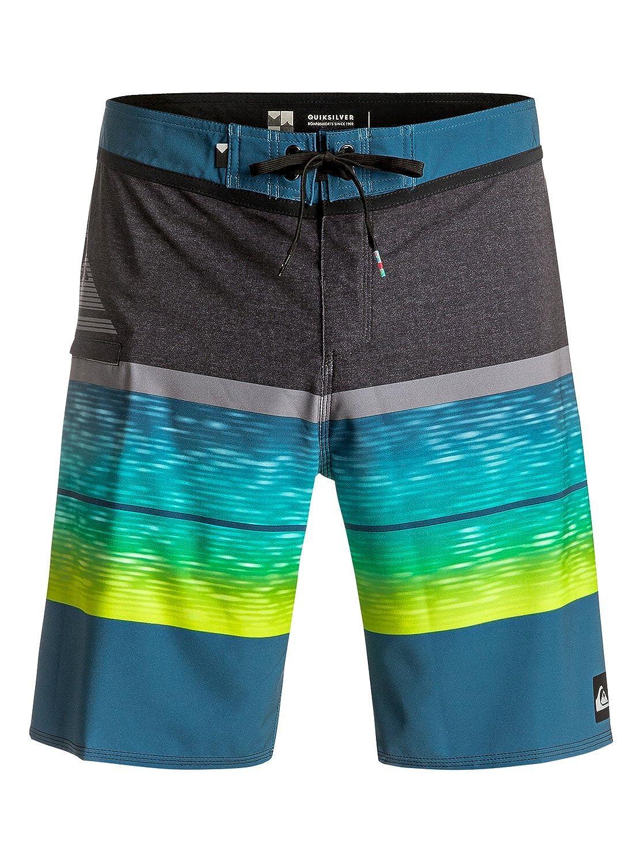 Quiksilver Mens Everyday Blocked Vee 20 Inch Boardshort Swim Trunk